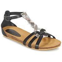 Παπούτσια Κορίτσι Σανδάλια / Πέδιλα Kickers BOMTARDES Silver / Black