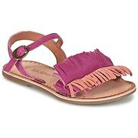 Παπούτσια Κορίτσι Σανδάλια / Πέδιλα Kickers DIXFROUFROU KID Fuchsia / Corail