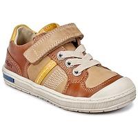 Παπούτσια Αγόρι Χαμηλά Sneakers Kickers IGORLOW CAMEL
