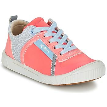 Παπούτσια Κορίτσι Χαμηλά Sneakers Kickers ZIGUY CORAIL / μπλέ