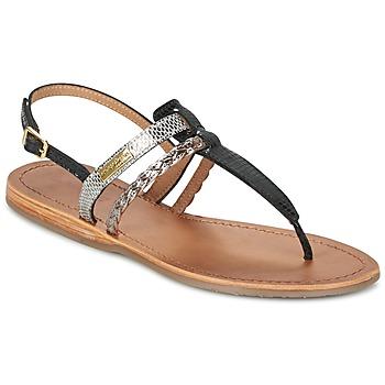 Παπούτσια Γυναίκα Σανδάλια / Πέδιλα Les Tropéziennes par M Belarbi BARAKA Black / Silver