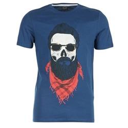 Υφασμάτινα Άνδρας T-shirt με κοντά μανίκια Jack & Jones TRICK ORIGINALS MARINE