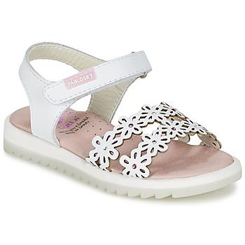 Παπούτσια Κορίτσι Σανδάλια / Πέδιλα Pablosky COULOIME άσπρο