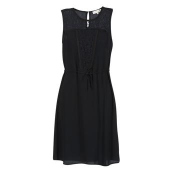 Υφασμάτινα Γυναίκα Κοντά Φορέματα Cream DONA Black
