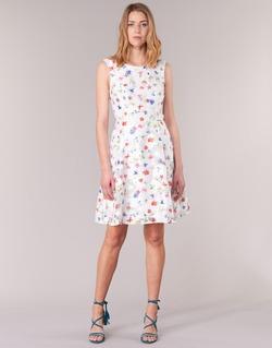 Υφασμάτινα Γυναίκα Κοντά Φορέματα Derhy MAESTRIA άσπρο