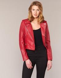 Υφασμάτινα Γυναίκα Δερμάτινο μπουφάν Oakwood 62326 Red