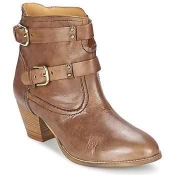 Παπούτσια Γυναίκα Μποτίνια Casual Attitude SANOU Brown