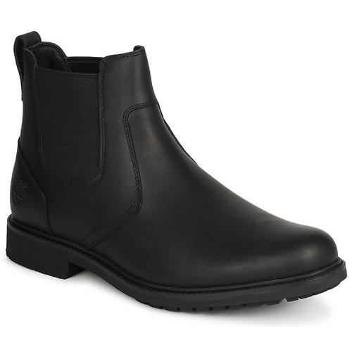 Παπούτσια Άνδρας Μπότες Timberland EK STORMBUCKS CHELSEA Black
