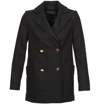 Υφασμάτινα Γυναίκα Παλτό Esprit WATTS Black