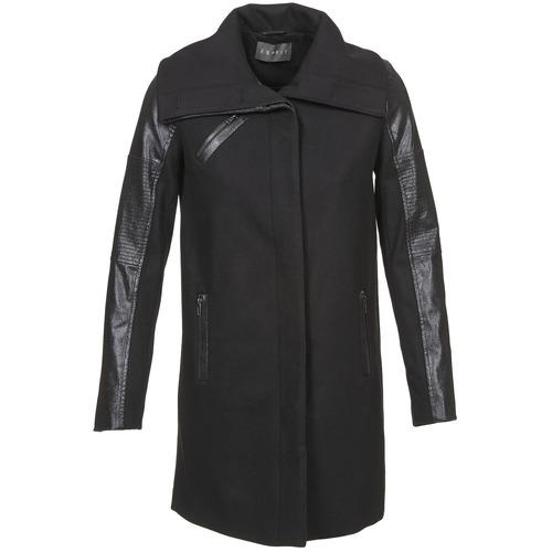 Υφασμάτινα Γυναίκα Παλτό Esprit BATES Black