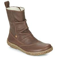 Παπούτσια Γυναίκα Μπότες El Naturalista NIDO TRAMBU Brown
