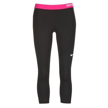 Υφασμάτινα Γυναίκα Κολάν Nike NP CL CAPRI Black / ροζ