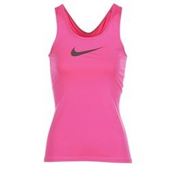 Υφασμάτινα Γυναίκα Αμάνικα / T-shirts χωρίς μανίκια Nike NIKE PRO COOL TANK ροζ