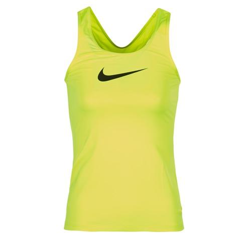 Υφασμάτινα Γυναίκα Αμάνικα / T-shirts χωρίς μανίκια Nike NIKE PRO COOL TANK Yellow