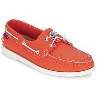 Παπούτσια Άνδρας Boat shoes Sebago DOCKSIDES ARIAPRENE Orange / ARIAPRENE
