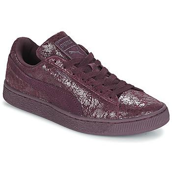 Παπούτσια Γυναίκα Χαμηλά Sneakers Puma WNS SUEDE C REMAST.WINE Violet