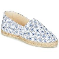 Παπούτσια Γυναίκα Εσπαντρίγια Maiett ASANOHA μπλέ / άσπρο