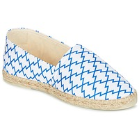 Παπούτσια Γυναίκα Εσπαντρίγια Maiett KIMONO άσπρο / μπλέ