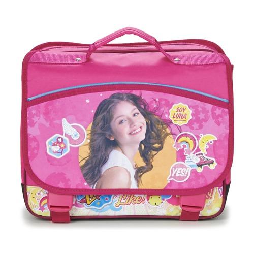 Τσάντες Κορίτσι Σάκα Disney SOY LUNA CARTABLE 38CM Ροζ