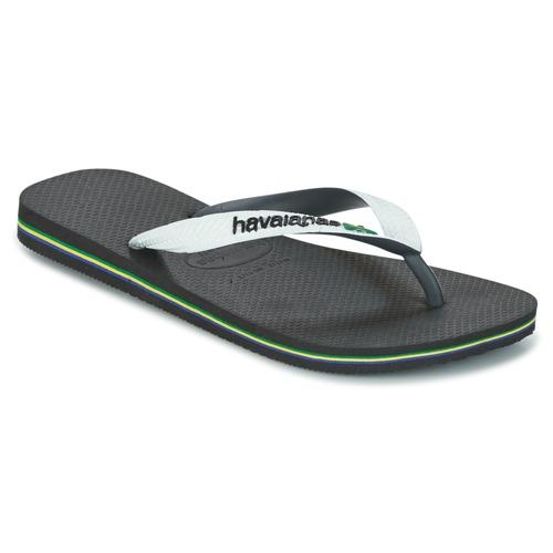 Παπούτσια Σαγιονάρες Havaianas BRASIL MIX Άσπρο / Black