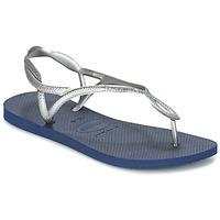 Παπούτσια Γυναίκα Σαγιονάρες Havaianas LUNA Silver / Μπλέ