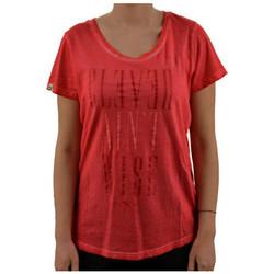 Υφασμάτινα Γυναίκα T-shirt με κοντά μανίκια Puma  Ροζ