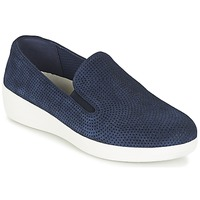 Παπούτσια Γυναίκα Slip on FitFlop SUPERSKATE (PERF) Marine