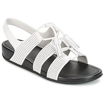 Παπούτσια Γυναίκα Σανδάλια / Πέδιλα FitFlop GLADDIE LACEUP SANDAL Άσπρο