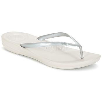 Παπούτσια Γυναίκα Σαγιονάρες FitFlop IQUSHION ERGONOMIC FLIP-FLOPS Silver
