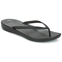 Παπούτσια Γυναίκα Σαγιονάρες FitFlop IQUSHION ERGONOMIC FLIP FLOP All / Μαυρο