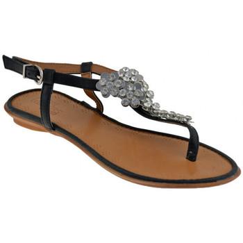 Παπούτσια Γυναίκα Σανδάλια / Πέδιλα Total Lookers  Black