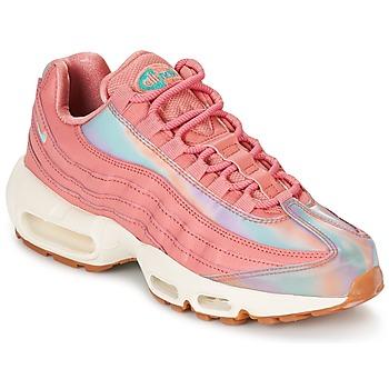 Παπούτσια Γυναίκα Χαμηλά Sneakers Nike AIR MAX 95 SE W Ροζ
