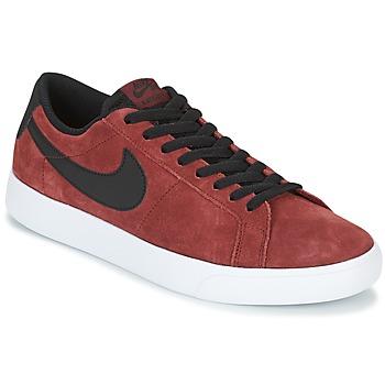 Παπούτσια Άνδρας Χαμηλά Sneakers Nike BLAZER VAPOR LOW SB Bordeaux / Άσπρο