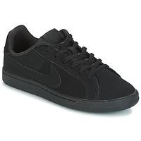 Παπούτσια Παιδί Χαμηλά Sneakers Nike COURT ROYALE GRADE SCHOOL Black