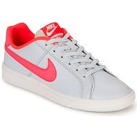 Παπούτσια Κορίτσι Χαμηλά Sneakers Nike COURT ROYALE GRADE SCHOOL Grey / ροζ