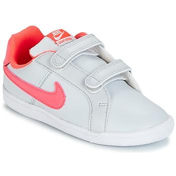 Παπούτσια Κορίτσι Χαμηλά Sneakers Nike COURT ROYALE TODDLER Grey / ροζ