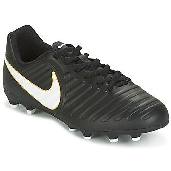 Παπούτσια Παιδί Ποδοσφαίρου Nike TIEMPO RIO IV FG JUNIOR Black / άσπρο