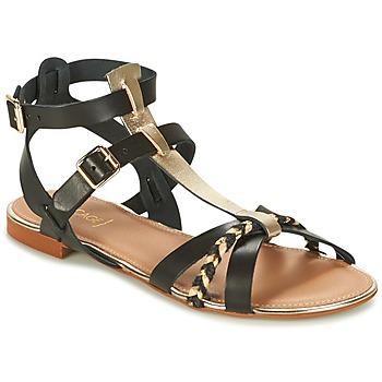 Παπούτσια Γυναίκα Σανδάλια / Πέδιλα Bocage JARET Black / Gold