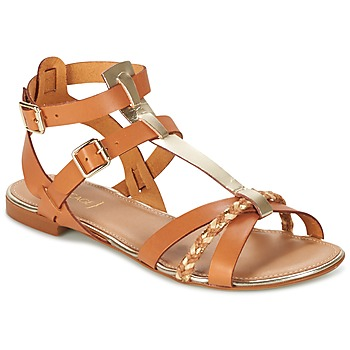 Παπούτσια Γυναίκα Σανδάλια / Πέδιλα Bocage JARET COGNAC