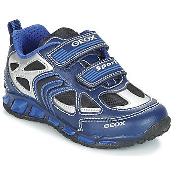 Παπούτσια Αγόρι Χαμηλά Sneakers Geox J SHUTTLE B. A MARINE / μπλέ