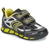 Παπούτσια Αγόρι Χαμηλά Sneakers Geox J SHUTTLE B. A Black / Yellow