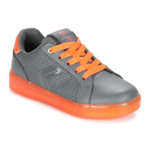 Παπούτσια Αγόρι Χαμηλά Sneakers Geox J KOMMODOR B.B Grey / Orange