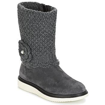 Παπούτσια Κορίτσι Μπότες για την πόλη Geox J THYMAR G. F Grey