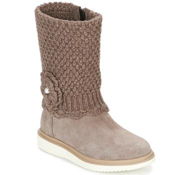 Παπούτσια Κορίτσι Μπότες για την πόλη Geox J THYMAR G. F Beige