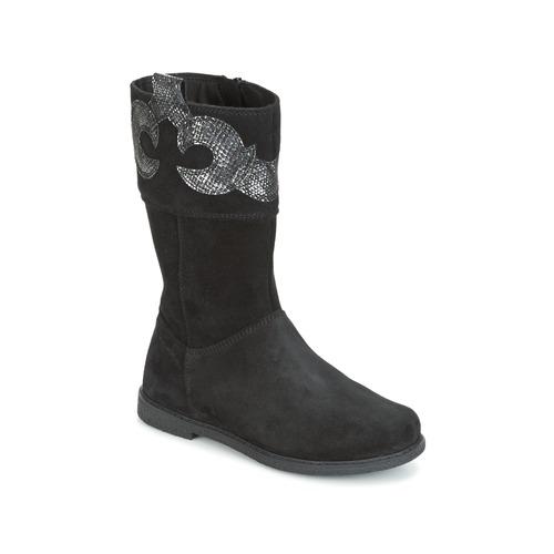 Παπούτσια Κορίτσι Μπότες για την πόλη Geox J SHAWNTEL G. C Black
