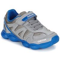 Παπούτσια Αγόρι Χαμηλά Sneakers Geox J MUNFREY B. A Grey / μπλέ