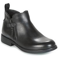 Παπούτσια Κορίτσι Μπότες Geox J AGATA C Black