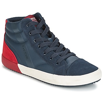 Παπούτσια Αγόρι Ψηλά Sneakers Geox J ALONISSO B. A MARINE / Red