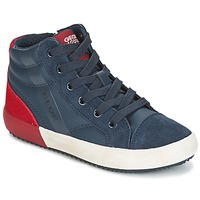 Παπούτσια Αγόρι Ψηλά Sneakers Geox J ALONISSO B. A MARINE / Red