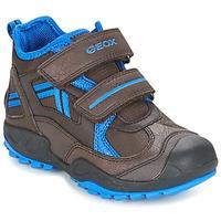Παπούτσια Αγόρι Χαμηλά Sneakers Geox J N.SAVAGE B.B Brown / μπλέ